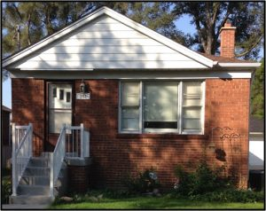 home exterior before