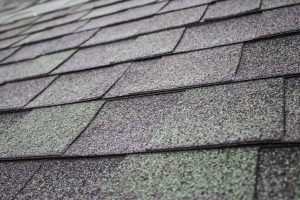 Loss of granules on roof shingles